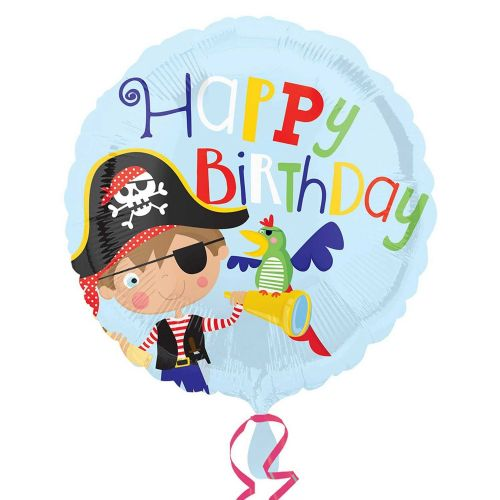 "18"" Little Pirate Happy Birthday"